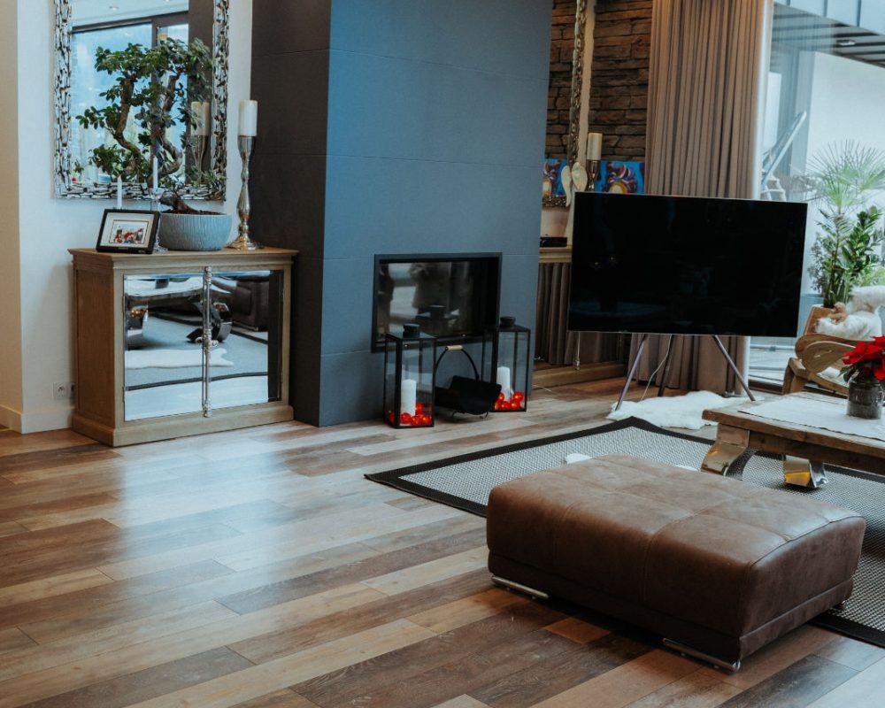 Realizácia dizajnovej laminátovej podlahy Parador Shufflewood