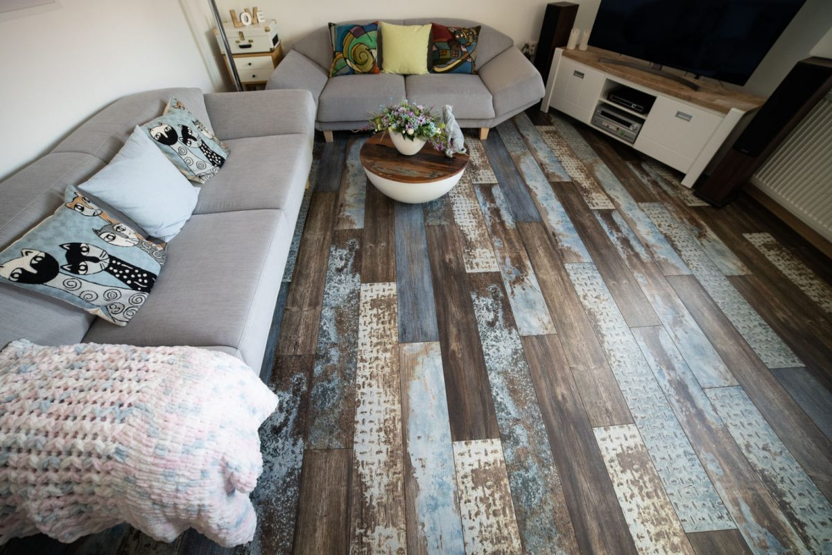 Laminátová podlaha PARADOR Edition One Ground Rotterdam v interiéry