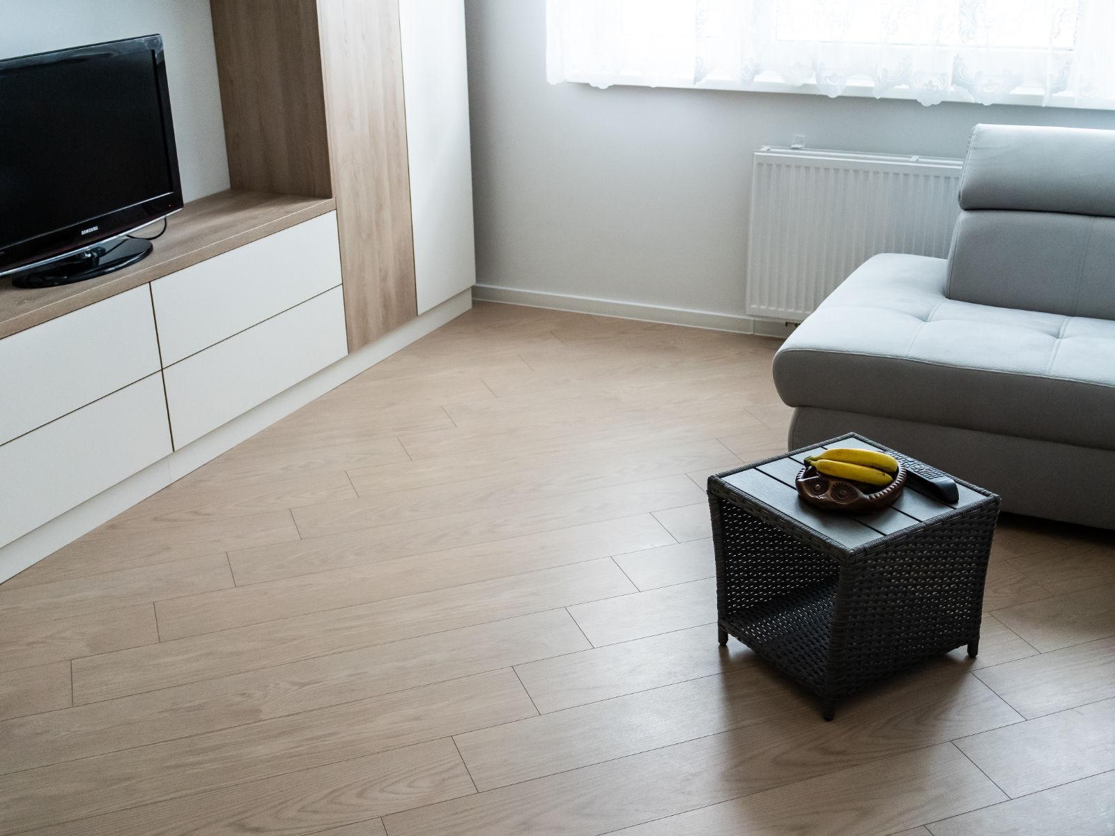 Korková podlaha EGGER Comfort Dub Calenberg v interiéry